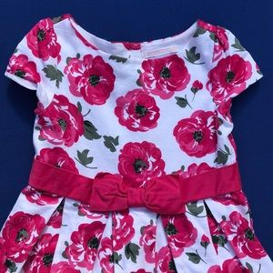 Janie and Jack girls flowered dress size 4
